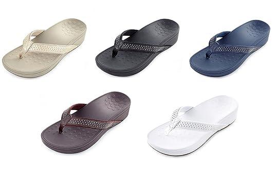 c0458a1c9 Vionic Orthotic Pacific Kehoe Wedge Sandal  Amazon.co.uk  Shoes   Bags