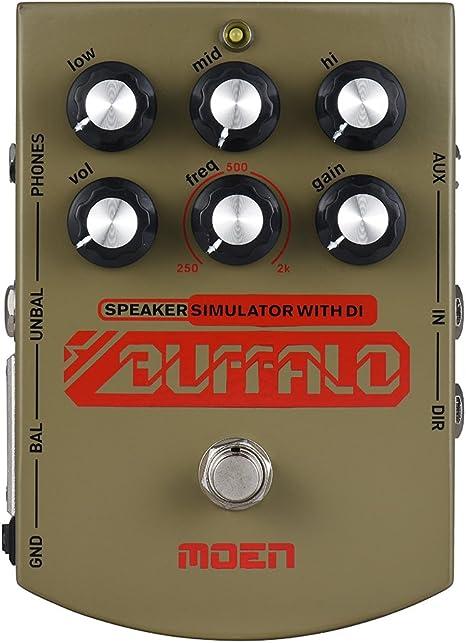 muslady Speaker Simulator para guitarra eléctrica ecualizador del ...