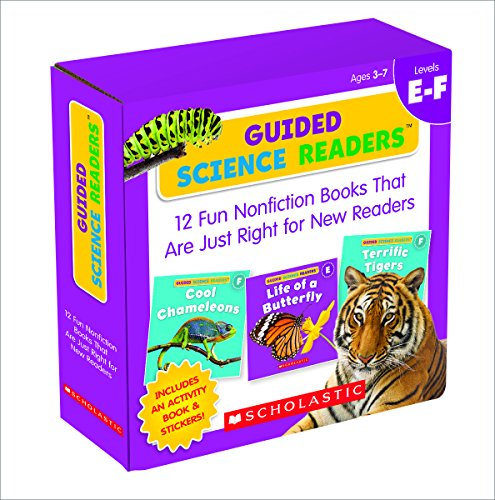 (Guided Science Readers Parent Pack: Levels E-F: 12 Fun Nonfiction Books That Are Just Right for New Readers)