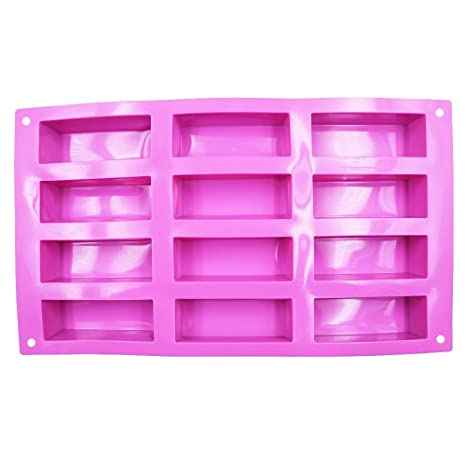 12 cavity square pen blank resin casting mold amazon com