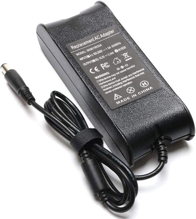 65W 19.5V 3.34A AC Charger for Latitude E6430 E5570 E5550 E5540 E5470 E6530 E6540 E7240 E7270 E7440 E7450 E7470 5550 3570 3189 3588 3580 13 3380 LA65NM130 HA65NM130 Power Laptop Adapter Supply Cord