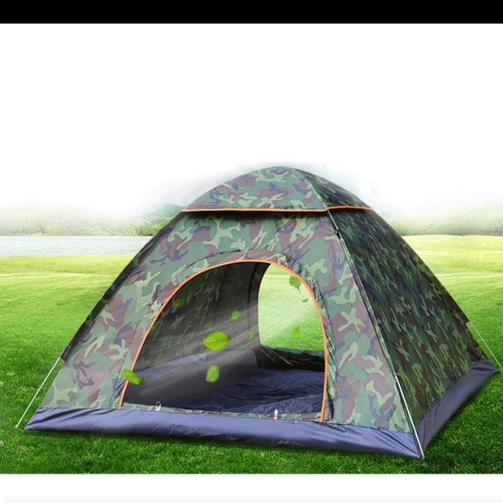 Chenshun Acampar al Aire Libre Tienda Doble espesó 2-3 Personas Suministros de Campo Abertura de la Tienda a Prueba de Lluvia rápidos Equipo de Camping automática (Color : C) A