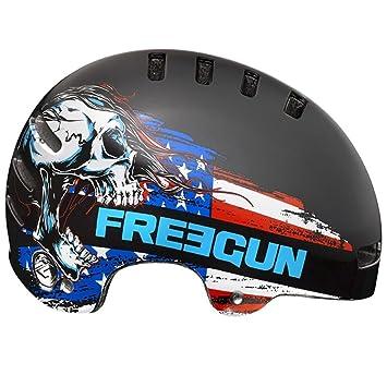 casque bmx freegun