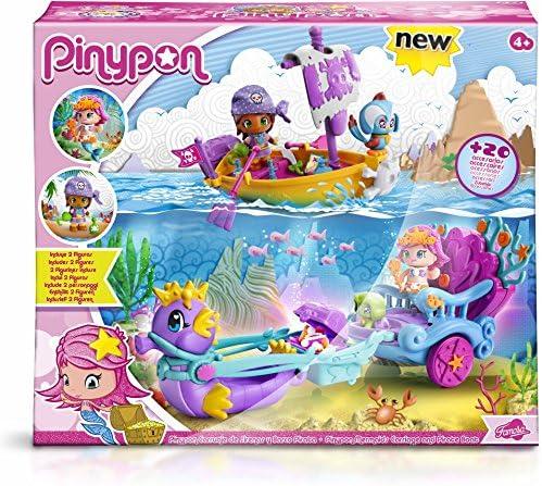 Amazon.es: Pinypon Carruaje de sirenas y bote pirata, surtido ...