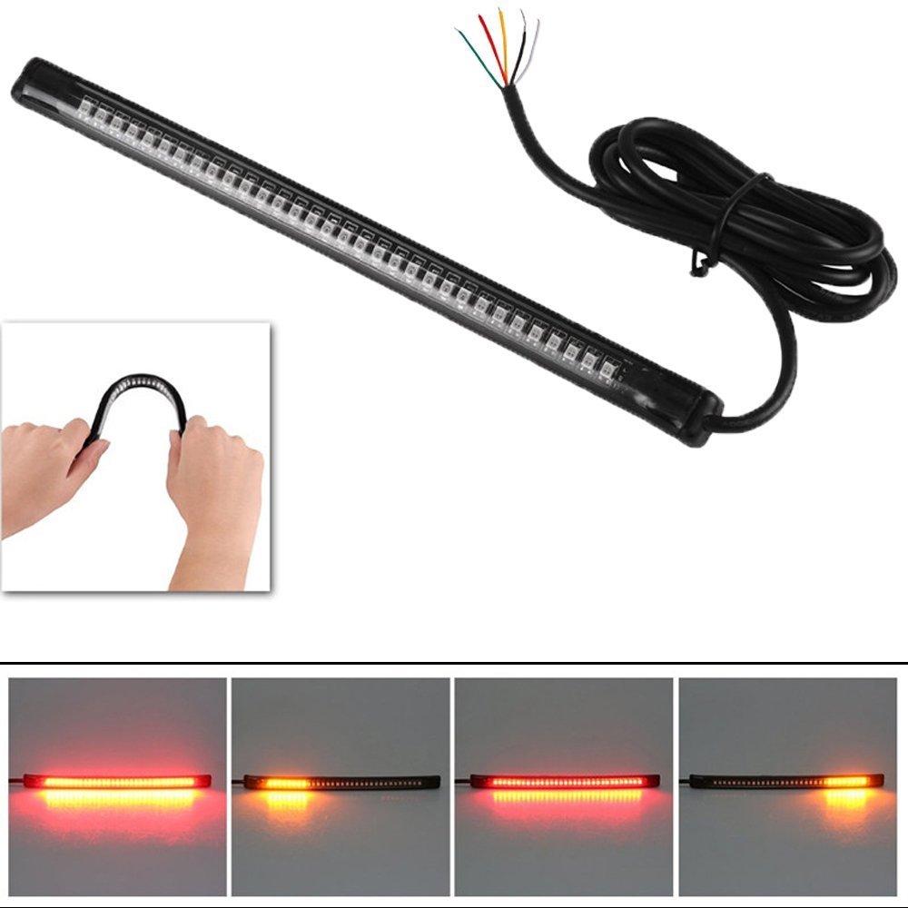 Pr Led Strip Tail Light Turn Signal Brake Indicator Chevrolet Tavera Wiring Diagram Neo Car Motorbike