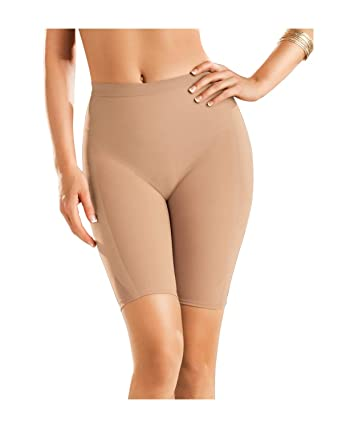 641508b01e Leonisa Women s Petite Plus Well-Rounded Invisible Butt Lifter Shaper Short
