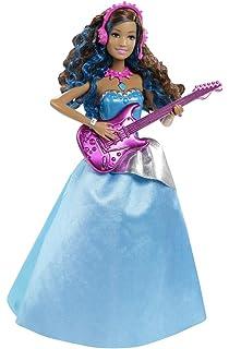 Barbie Prinzessin Popstar Tori Puppe Mikrofon Amazon De Spielzeug