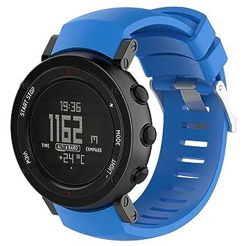 Suunto Core Alu reloj banda, rtyou (TM) Durable nueva moda deportes pulsera de silicona banda Correa para Suunto Core Alu: Amazon.es: Oficina y papelería