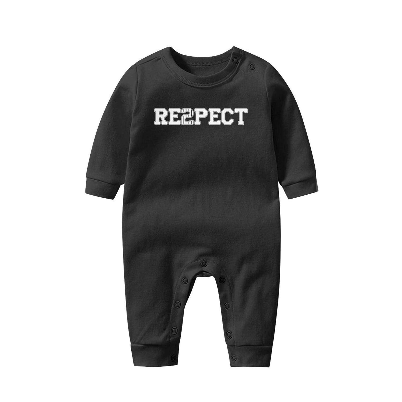 Asik Novelt Unisex Boys Girls Baby Onesies Organic Cotton Tshirt Long SleeveJumpsuits 0-12 Months