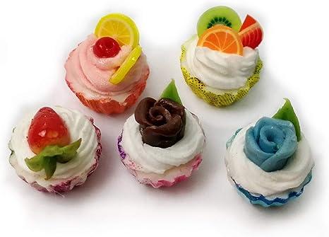 10 Loose Ice Cream  Dollhouse Miniatures Food Bakery Deco