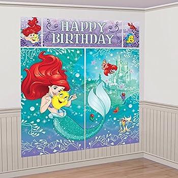 Amazon.com: Disney Sirenita Ariel Escena Setters pared ...