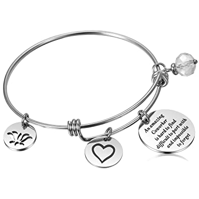 ea242db0c93b6 Coworker Leaving Gifts Going Away Bracelet Thank You Gifts for Coworkers  Goodbye Gift Farewell Gift for Friend Boss, Colleague Moving