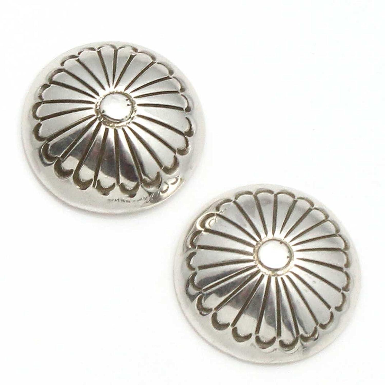 Sterling Silver Post Earrings by Yazzie