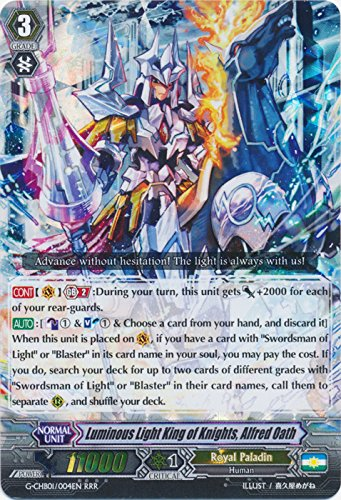 Luminous Light King of Knights, Alfred Oath - G-CHB01/004EN - RRR - G Character Booster 1: TRY3 NEXT (King Knights Of)