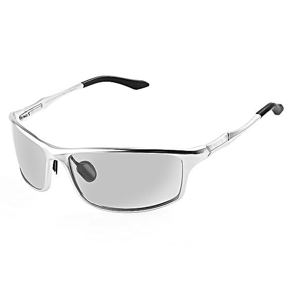 Duco Lunettes de soleil homme Lunettes de sport polarisées - Lunettes de  conduite avec monture en 2907f632692a