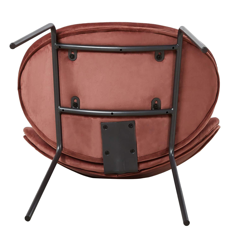 Eggree sedie da pranzo in velluto sedia imbottita design for Sedia design pranzo