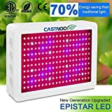 1000W Grow Lights for Indoor Plants, Full Spectrum LED Grow Lamp with UV&IR and Double Cooling Fans for Growing Indoor Veg and Flower(5W 200PCs LEDs)