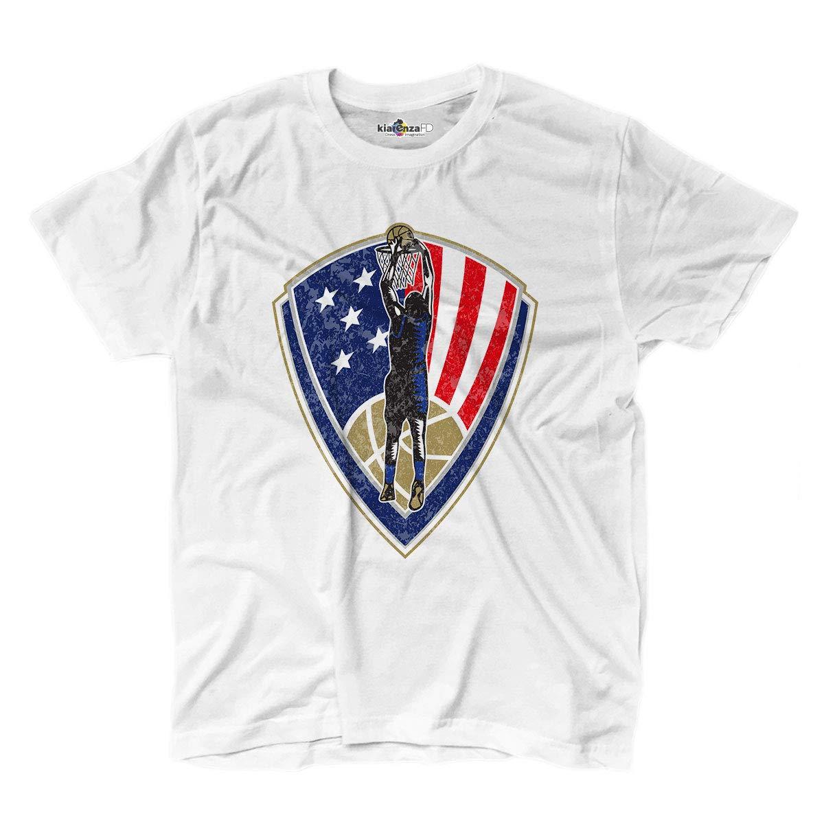 KiarenzaFD - Camiseta para Camiseta de Baloncesto USA Slam All ...
