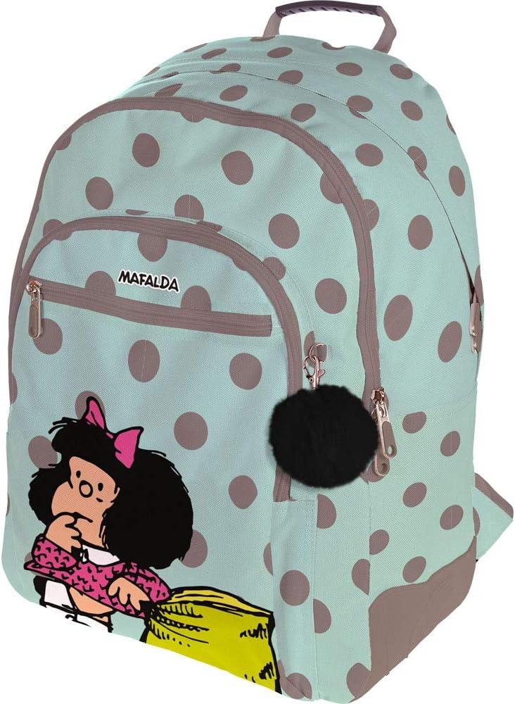 Grafoplás Mochila Rubber Mafalda Dots: Amazon.es: Equipaje