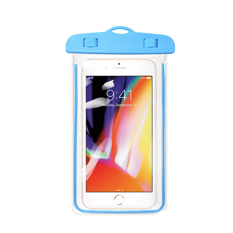 hot sales 06bf4 3fbe1 Amazon.com: Waterproof Phone Case for iPhone 8 7 6 Waterproof Phone ...