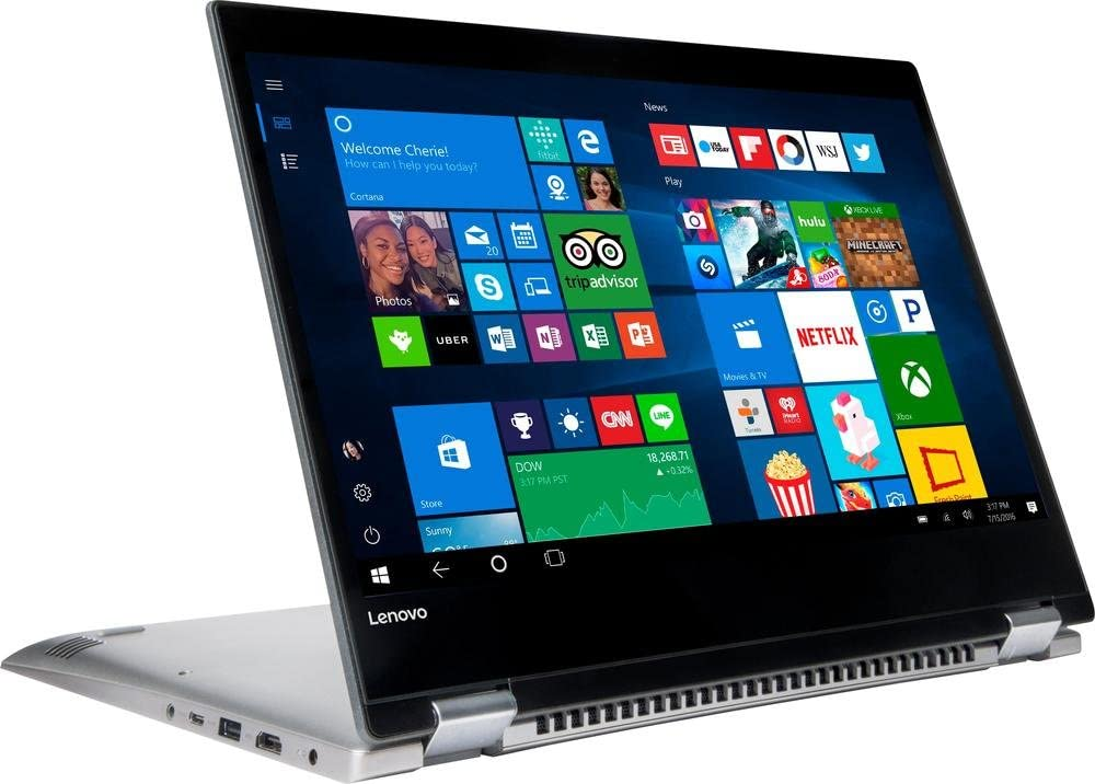 "Lenovo IdeaPad 2 in 1-14 81CW - 14"" HD Touch - Pentium 4415U - 4GB - 500GB HDD - Black"
