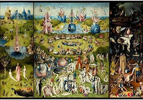 BN Bien, Jardín de la alegría terrenal – Hieronymus Bosch, rompecabezas de 1000 piezas [bolsa incluida]: Amazon.es: Hogar