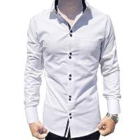 Generic Men's Cotton Long Sleeves Casual Shirt