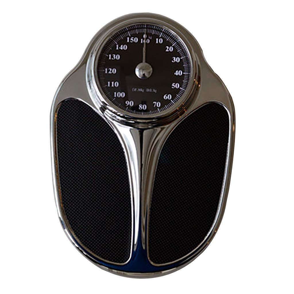 LEOO Professional Extra-Large Analog Mechanical Dial Precision Scale (Color : Black)