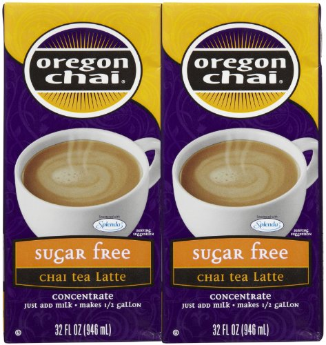 - DaVinci Oregon Chai Concentrate, Sugar Free, 2 pk