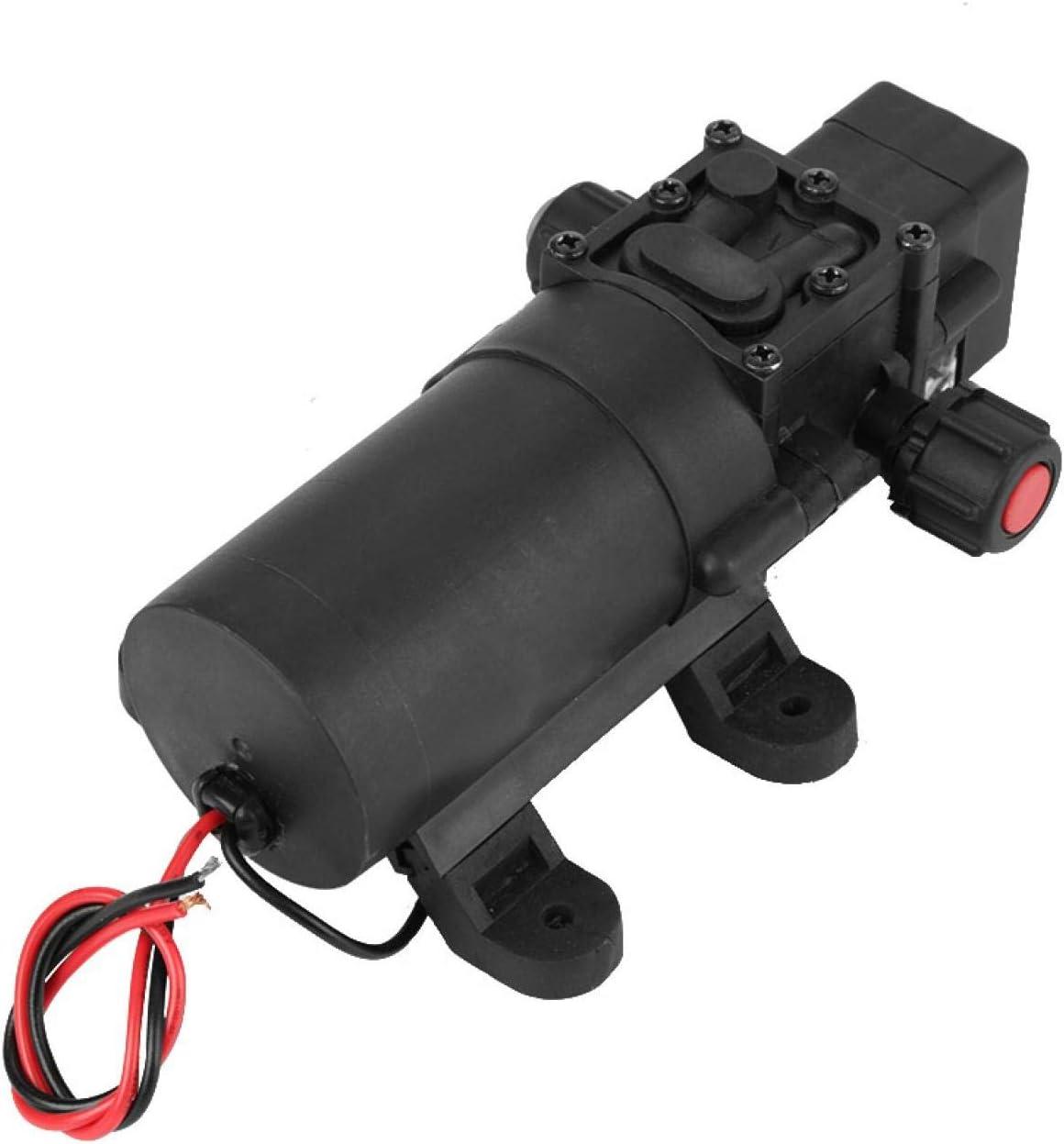 Leku Bomba de diafragma - DC 24V 80W 5.5L / MIN Bomba de Agua autocebante de diafragma con Interruptor de presión automático