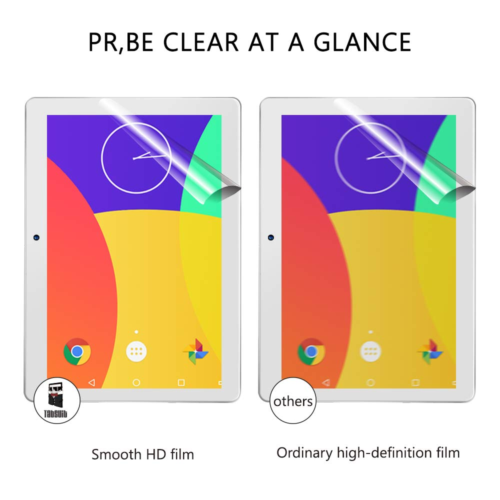 HD TabSuit Dragon Touch K10 Screen Protector Ultra-Clear of High Definition -3 Pack for Dragon Touch K10 10.1 Tablet