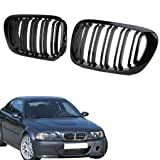 1 Pair Car Front Grille for BMW E46 4 Door 318I