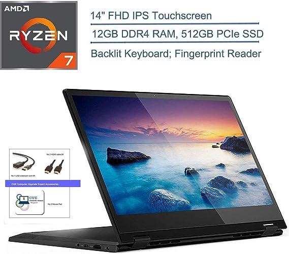 """2020 Lenovo Flex 14 2-in-1 14"""" FHD Touchscreen Laptop Computer"""
