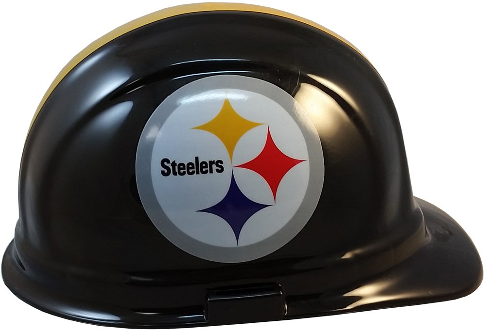Pittsburgh Steelers Hard Hats, ERB Style with Standard Suspension