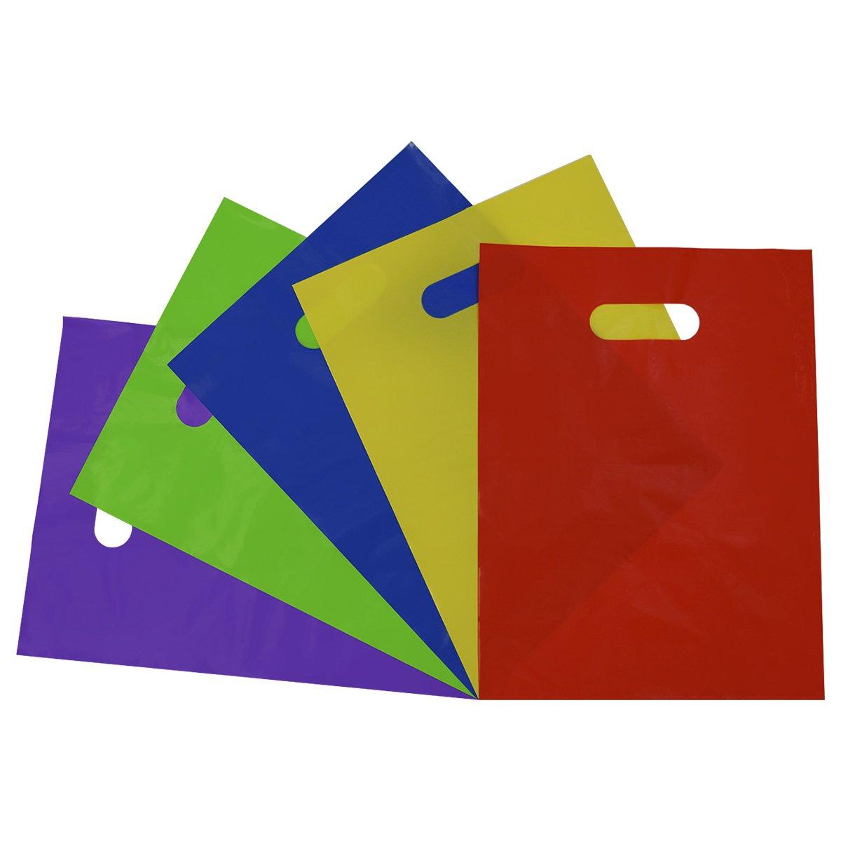 50 12x15 Glossy Lime Green Plastic Merchandise Bags w//Handles
