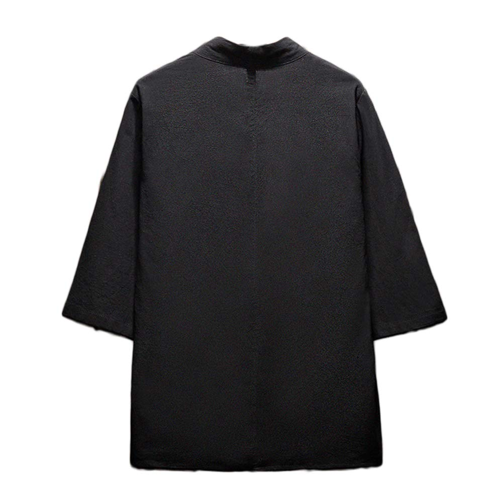 GladiolusA Herren Japan Happi Kimono Haori Jacke 3//4 /Ärmel /Übergangsjacke M/äntel