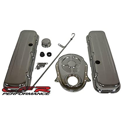 CFR Performance 1965-95 Chevy Big Block 396-427-454-502 Chrome Steel  (Short) Engine Dress Up Kit - Smooth