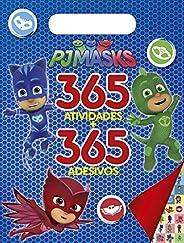Pj Masks: 365 Atividades + 365 Adesivos
