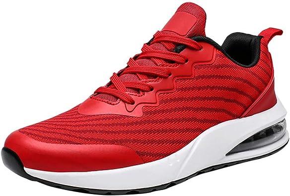 Zapatos De Running Hombre Zapatillas De Deporte Transpirables Casual Zapatos Gimnasio Comodos Sneakers: Amazon.es: Zapatos y complementos