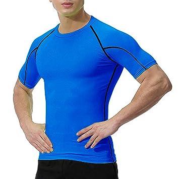 Atmungsaktiv T Funktionsshirt HerrenFitness Oxensport Shirts Kurzarm MännerSportshirts nwPOX80NkZ
