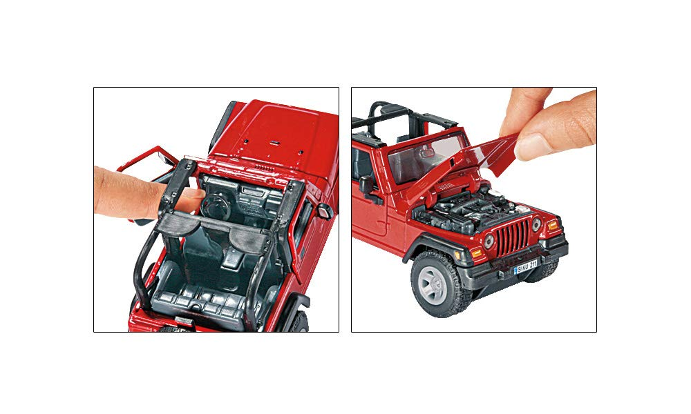 Alpha-Bits Siku 1:32 Jeep Wrangler Toys & Games Play Vehicles ...