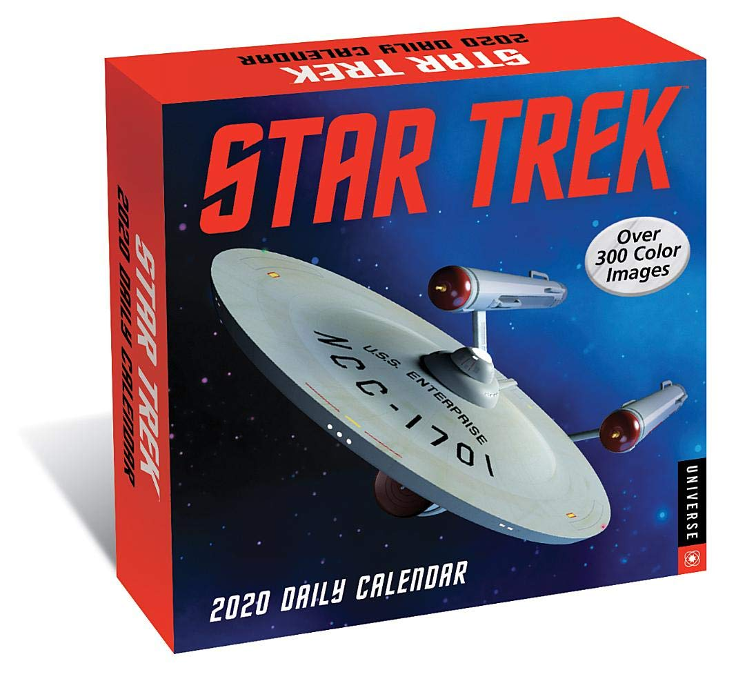 Star Trek Daily 2020 Day-to-Day Calendar by Universe Publishing