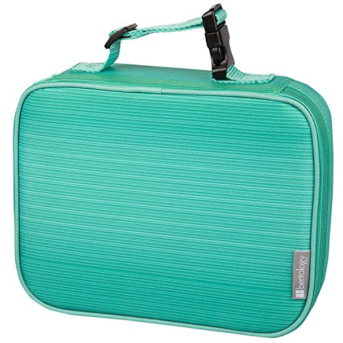 Insulated Lunch Box Sleeve - Securely Cover Your Bento Box - (Turquoise Lunch Box)