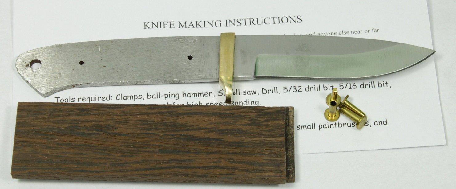 8 5 INCH Drop Point Knife kit/DIY Knife KIT/Payne BROS