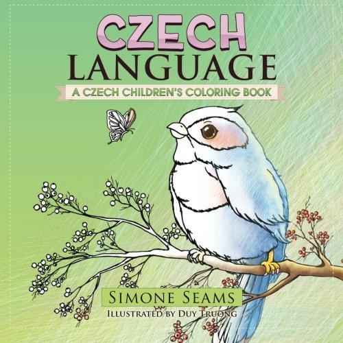 Czech Language: A Czech Children's Coloring Book