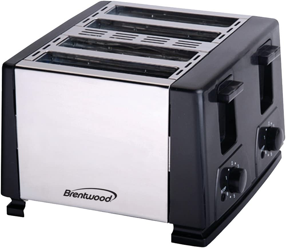BRENTWOOD Brentwood 4-slice Toaster (black) - BTWTS284