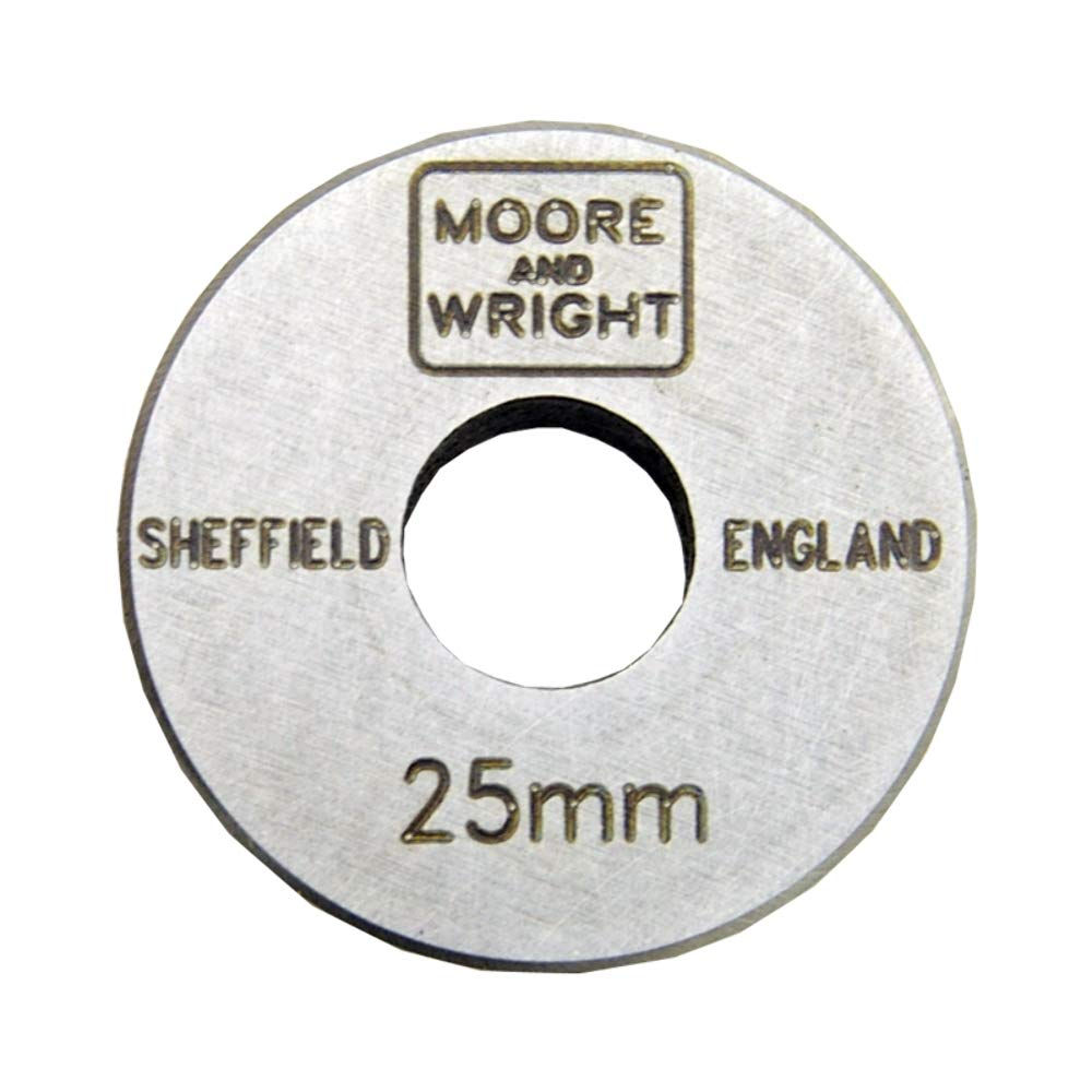 25mm Micrometer Setting Gauge - Moore and Wright