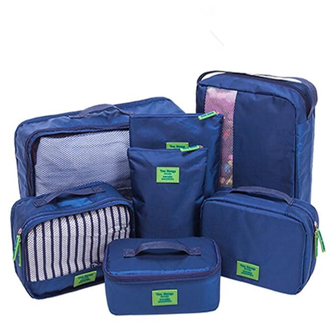 Zoomlie - Organizador para maletas Mujer Azul azul Taglia unica: Amazon.es: Ropa y accesorios