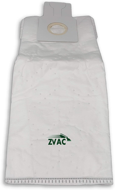 ZVac Kenmore Upright Vacuum HEPA Cloth Bags Type U 50688, 50690 for Sears Kenmore Upright, Canister, Panasonic U-2, Miele Z, Sanyo PU-1 Vacuum Cleaners - 6 Pack