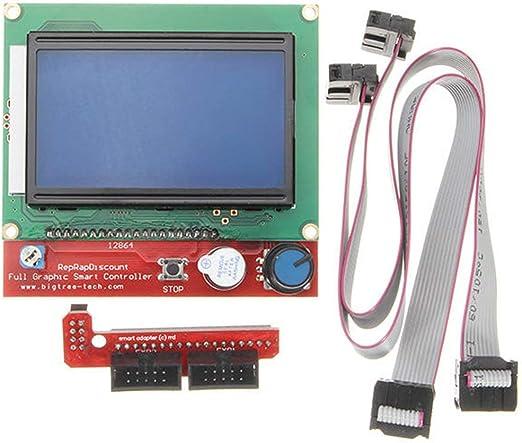 Heaviesk Controlador de Impresora 3D con Pantalla LCD 12864 ...